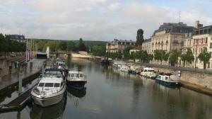 Les quais de la Meuse à Verdun
